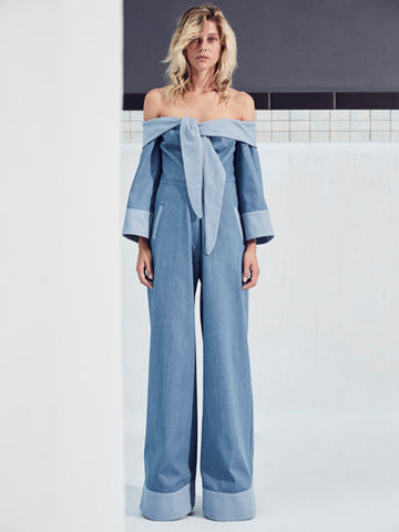 MOD JUMPSUIT in DENIM