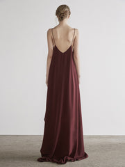 Absolute Long Top In Maroon
