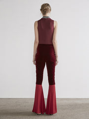 22 Bodysuit In Maroon MADE-TO-ORDER