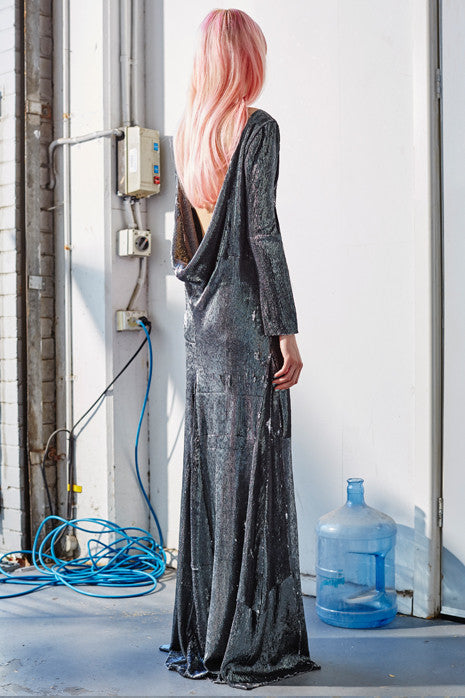 REFLECTIVE CONSTELLATION DRESS