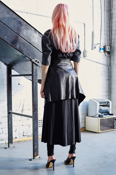 LIMITLESS SKIRT in BLACK