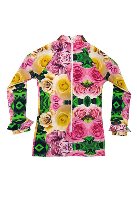SUNSMART VEST in WILD ROSES