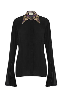 Isabella Shirt In Black Multi MADE-TO-ORDER