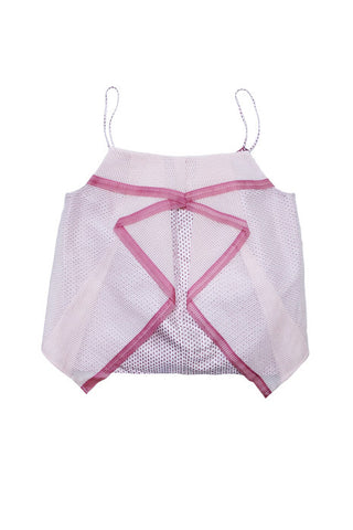 WATERFALL SINGLET in PINK MULTI