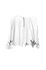 PLICATE TOP in WHITE
