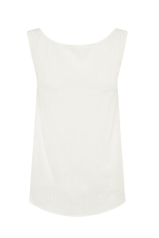 STREAMLINE TANK in CREAM