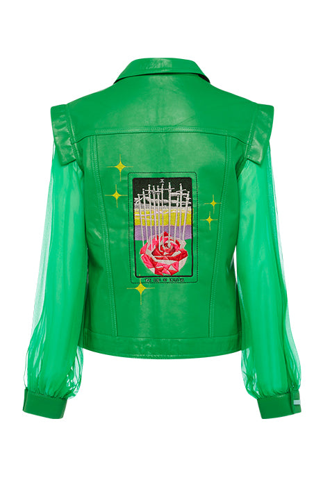 10 of SWORDS JACKET in GREEN