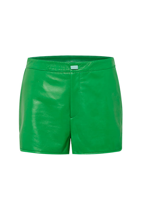 ROLLER GIRL SHORTS in GREEN MADE-TO-ORDER