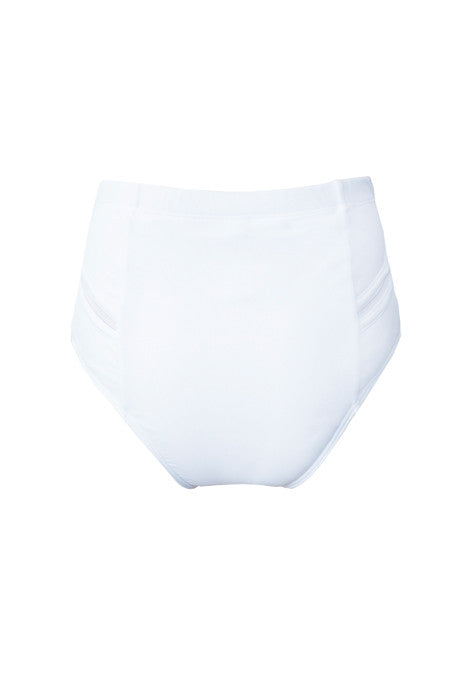 VIE HIGHWAISTED BRIEF in WHITE