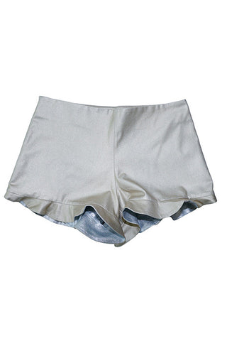 KYLIE SHORTS in GOLD/SILVER