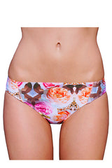 LOW BRIEF (BRAZILIAN CUT) in ROSE GLOMESH