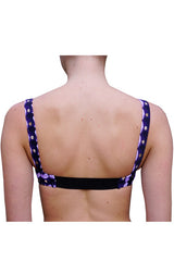 IN JEST BRALETTE in PURPLE SEQUINS