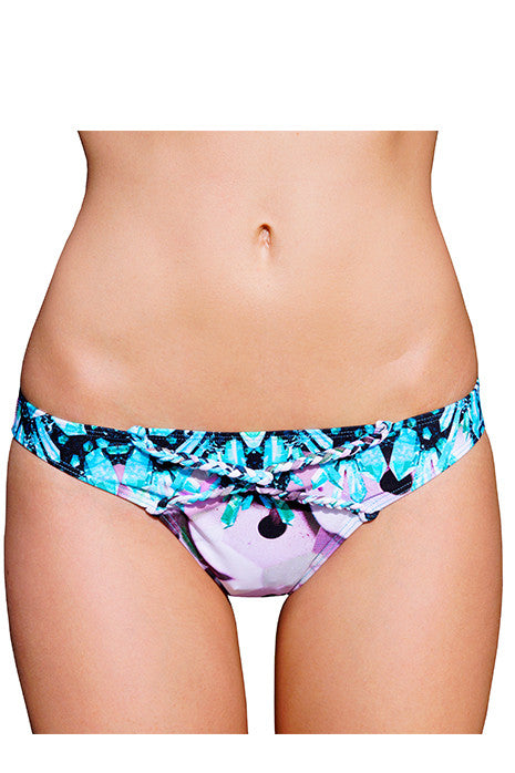 KHALEESY BRIEF in AQUA CRYSTAL