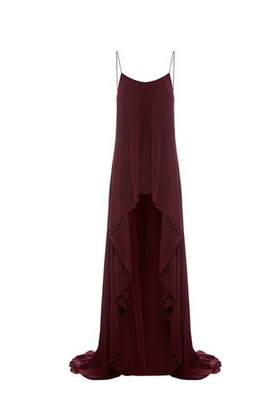 65bb87c5e41a Absolute Long Top In Maroon – Kaliver