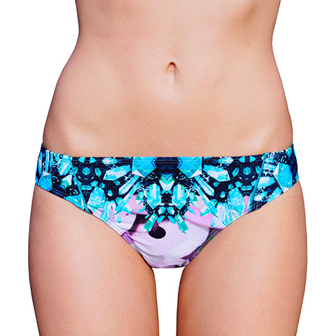 LOW BRIEF (NORMAL CUT) in AQUA CRYSTAL