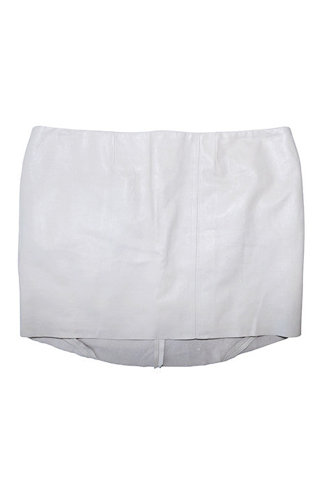 GRADUAL MINI SKIRT in NUDE