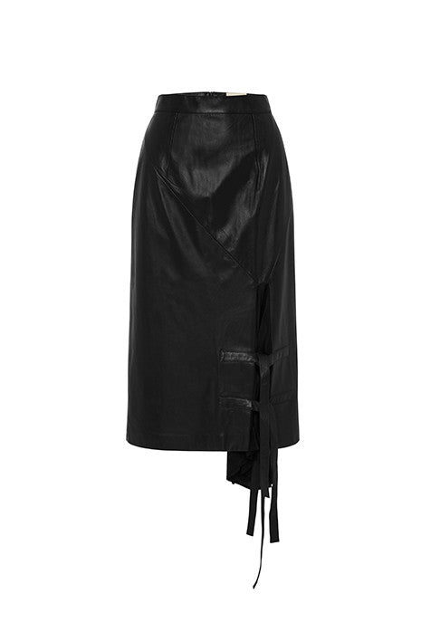 Pyramid Skirt In Black MADE-TO-ORDER