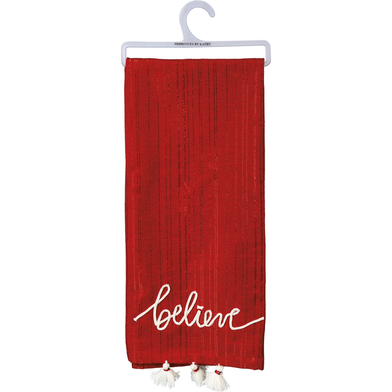 Believe Dish Towel