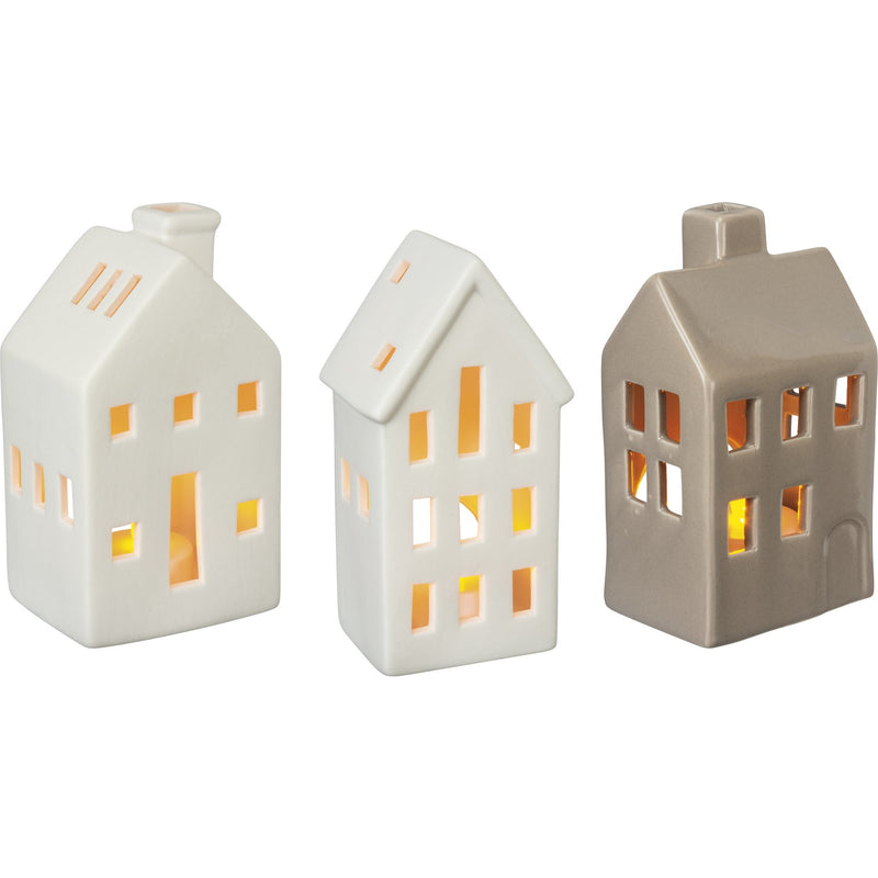 Tall House Candle Holder