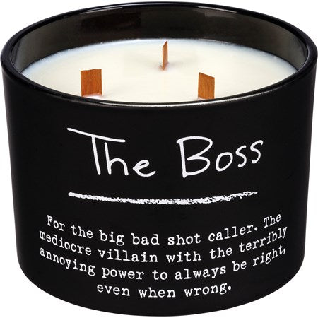 The Boss Jar Candle