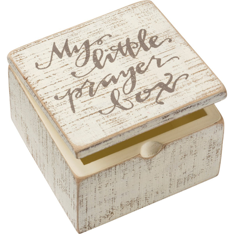 Prayer Hinged Box