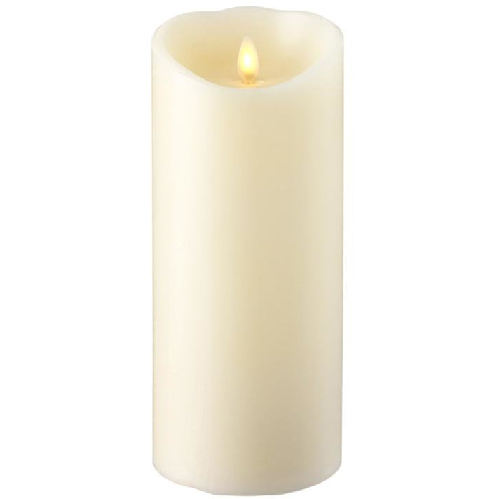 "4"" x 9"" Push Flame Candle"