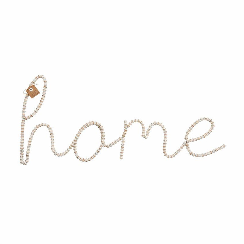 Home Beaded Wall Art