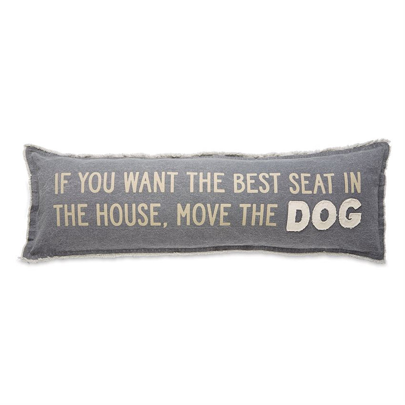 Move the Dog Pillow