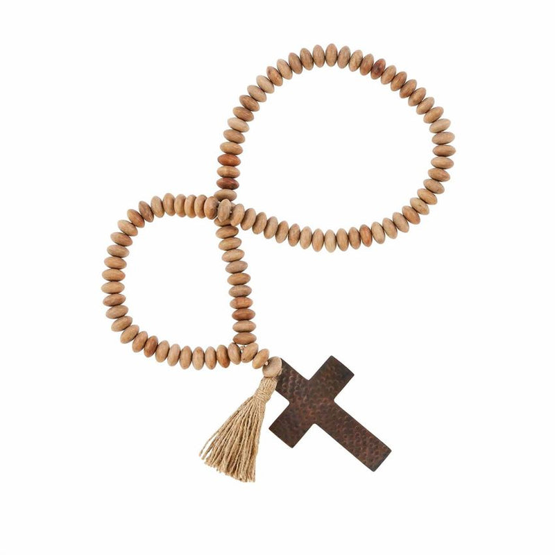 Cross Tassel Decor Beads