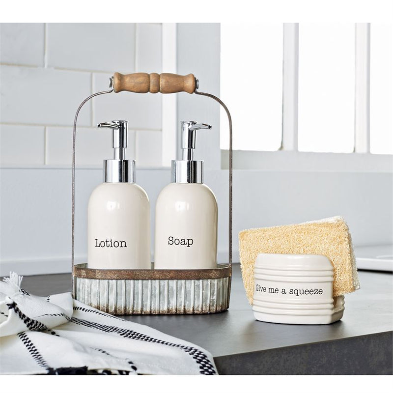 Lotion & Soap Pump Caddy