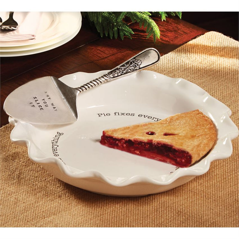 Pie Plate with Server