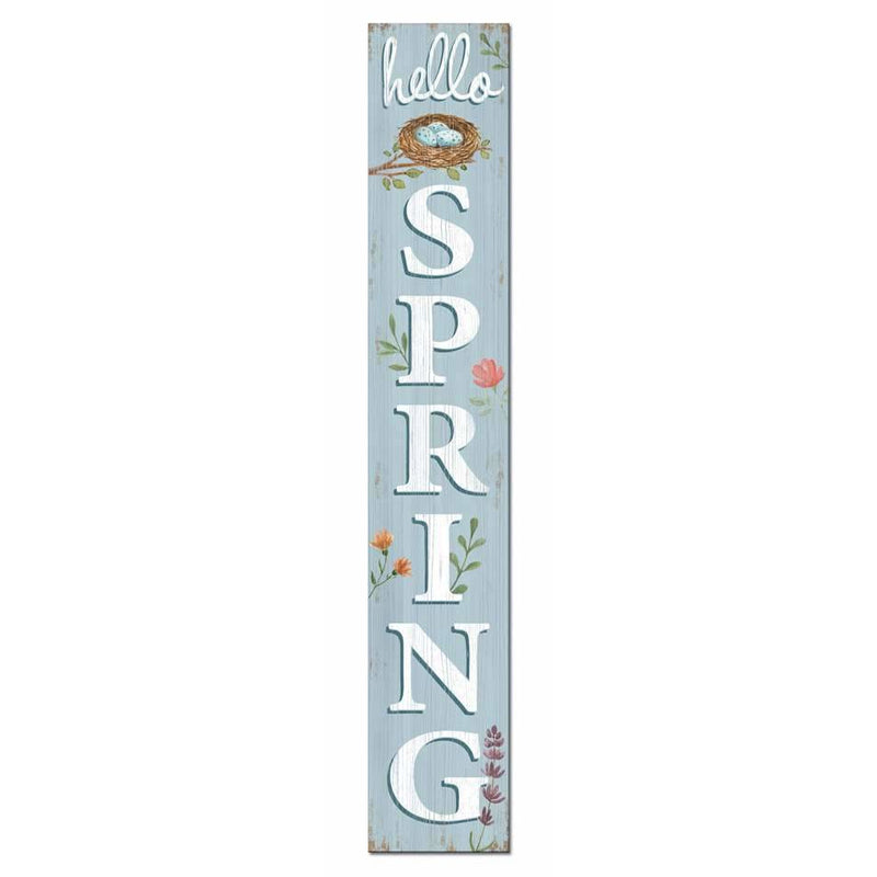 Hello Spring Welcome Sign