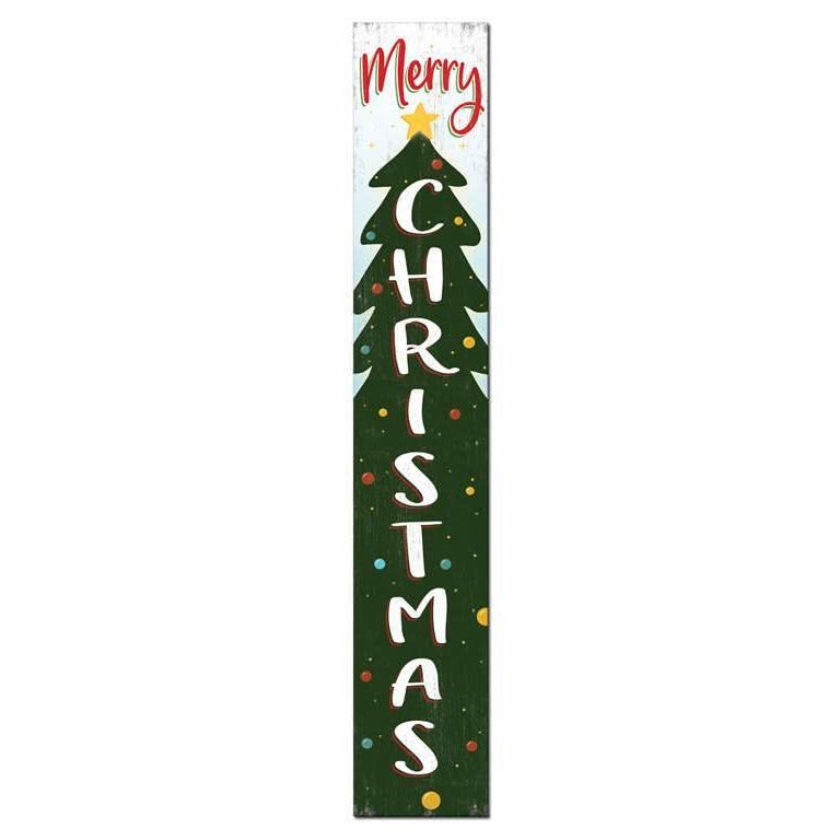 Merry Tree Welcome Sign
