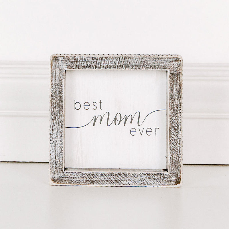 Best Mom Box Sign
