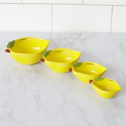 Lemon Measuring Cups