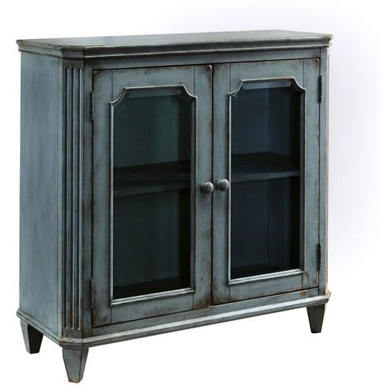 Teal Accent Cabinet