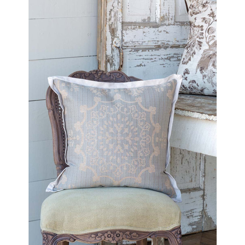 Weathered Blue Pillow