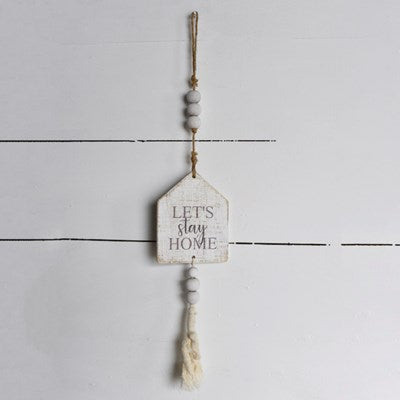 Hanging Beads Sign