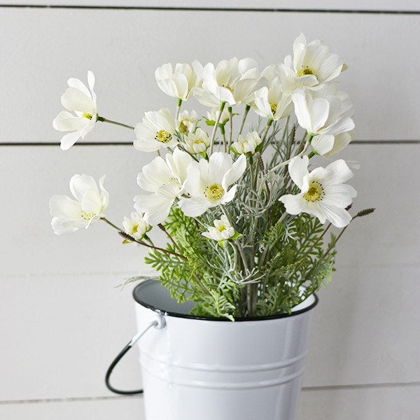 "23"" White Coreopsis Bunch"