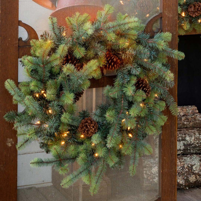 Large Blue Spruce Wreath