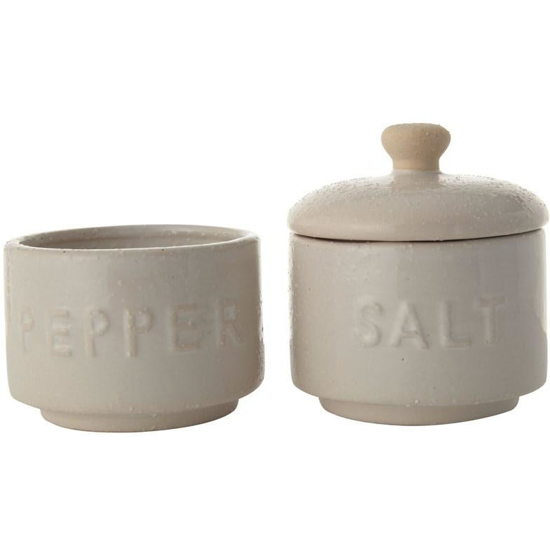 Stackable Salt & Pepper Pots