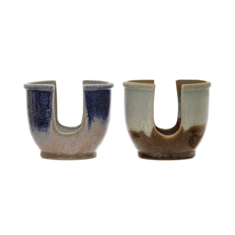 Colored Stoneware Sponge Holder