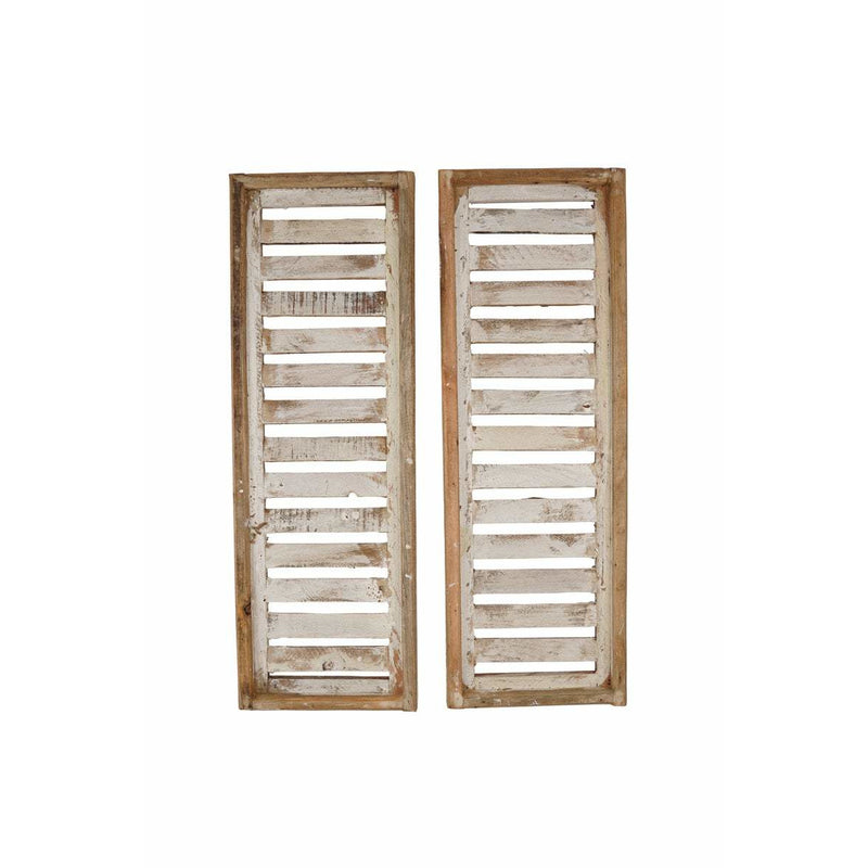 Wooden Shutter Windows