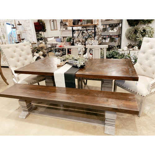 Allison Old Grey Table Set