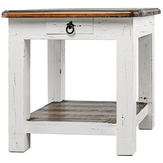 Tobacco Top End Table