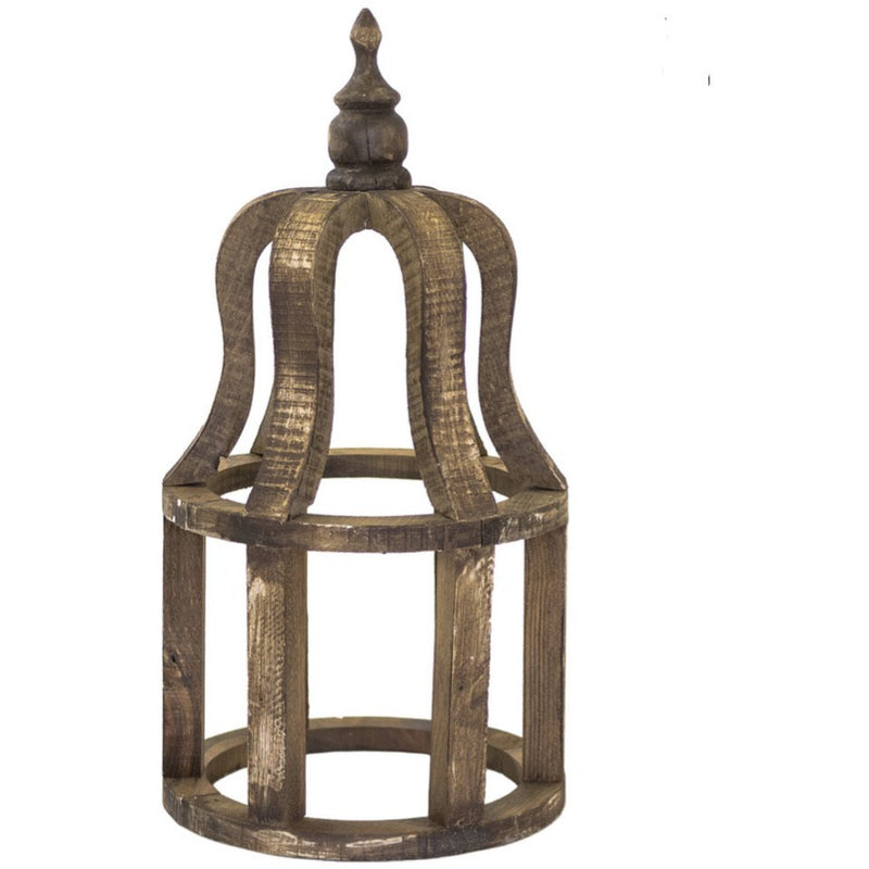Curved Wooden Cage