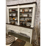 Farmhouse Dining Cupboard & Hutch