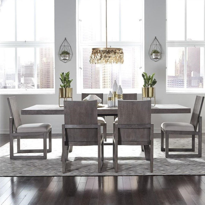 Modern Farmhouse 7 Piece Dining Set