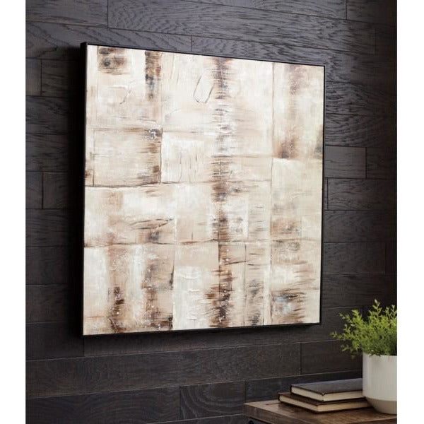 Abstract Neutral Wall Art
