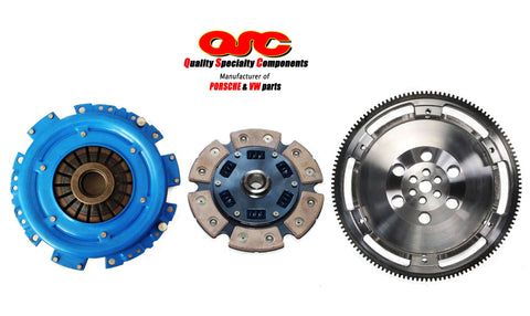Porsche 911 Clutch Kit 200mm 6-pad Ceramic Disc + Chromoly Flywheel